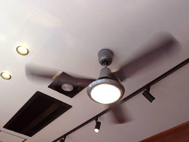L-0030-SV + LED133WW / LED133CWF,TRISLANDER(トライスランダー) LED 電球色/昼白色 2灯 軽量 HERMOSA(ハモサ)製シーリングファンライト