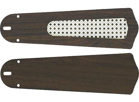 AM40383E + AE40392E,羽根デザイン(ラタン柄) 大風量 軽量 KOIZUMI(コイズミ)製シーリングファン