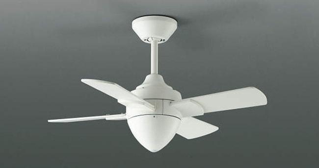AEE695078 傾斜対応 小型 軽量 KOIZUMI(コイズミ)製シーリングファン