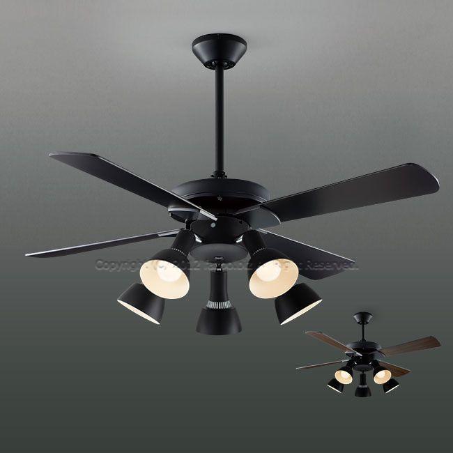 AM47471E + AA47473L / AA47473L(N) + AE40391E 傾斜対応 LED 電球色/昼白色 5灯 KOIZUMI(コイズミ)製シーリングファンライト