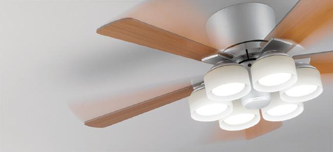 WF209PC LED 調光・光色切替(電球色-昼白色) 6灯 薄型 ODELIC(オーデリック)製シーリングファンライト
