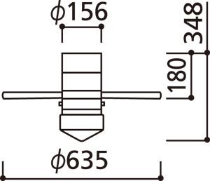 WF255LD / WF255ND LED 電球色/昼白色 1灯 薄型 小型 軽量 ODELIC(オーデリック)製シーリングファンライト