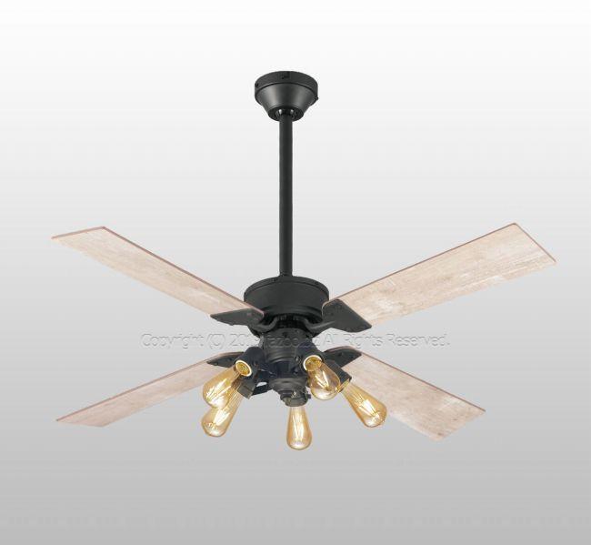 WF831 + WF835LC + WF837 大風量 傾斜対応 LED 調光 電球色 5灯 ODELIC(オーデリック)製シーリングファンライト