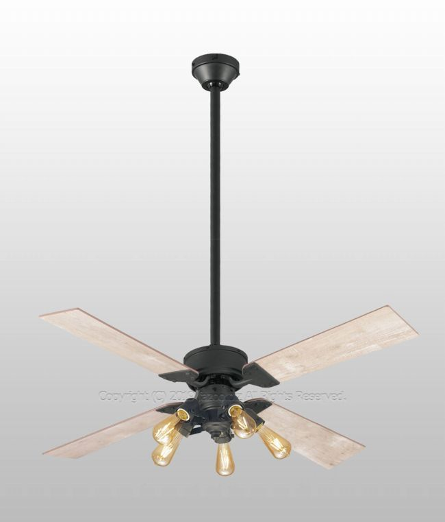 WF831 + WF835LC + WF838 大風量 傾斜対応 LED 調光 電球色 5灯 ODELIC(オーデリック)製シーリングファンライト