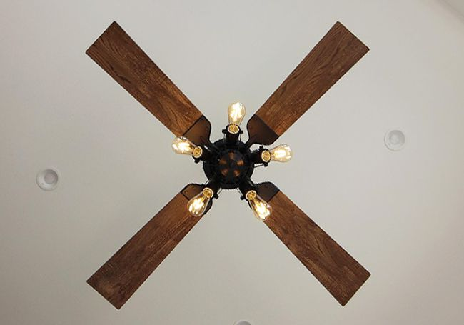 WF831 + WF835LC + WF836 大風量 傾斜対応 LED 調光 電球色 5灯 軽量 ODELIC(オーデリック)製シーリングファンライト