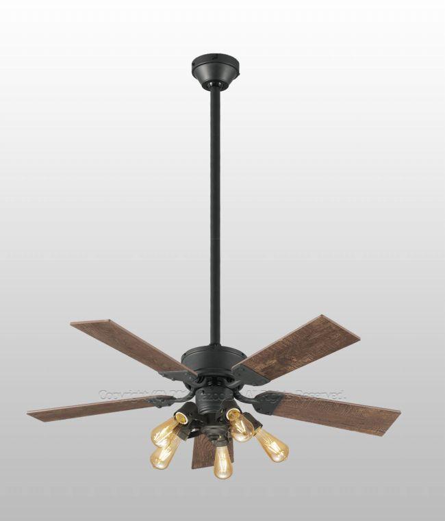 WF833 + WF835LC + WF838 傾斜対応 LED 調光 電球色 5灯 軽量 ODELIC(オーデリック)製シーリングファンライト