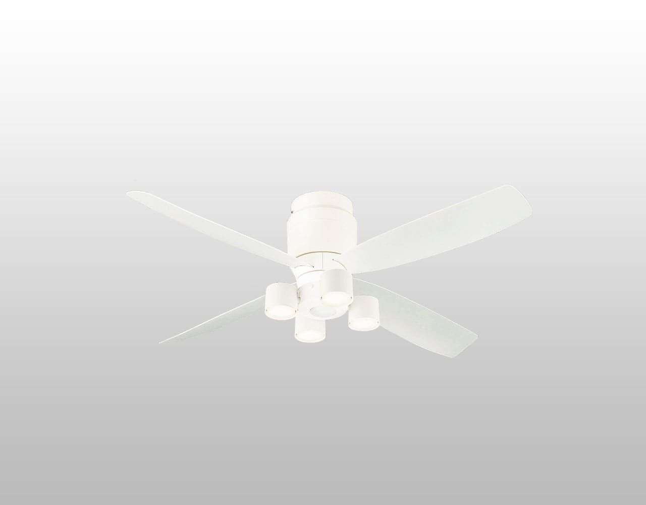SP7070 + SPL5427(集光) + LLD3020MLCE1 / LLD3020MVCE1 / LLD3020MNCE1,クラス700[集光タイプ]Ra90[美ルック] 大風量 LED 電球色/温白色/昼白色 4灯 薄型 軽量 Panasonic(パナソニック)製シーリングファンライト