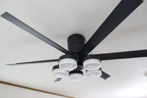 WF249 + WF270PC + WF738 大風量 傾斜対応 LED 調光調色 5灯 ODELIC(オーデリック)製シーリングファンライト