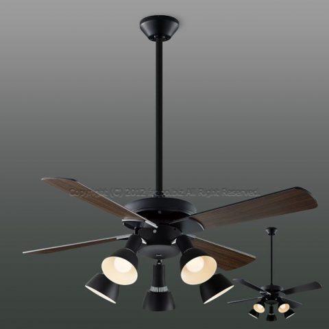 AM47471E + AA47473L / AA47473L(N) + AEE590168 傾斜対応 LED 5灯 KOIZUMI(コイズミ)製シーリングファンライト