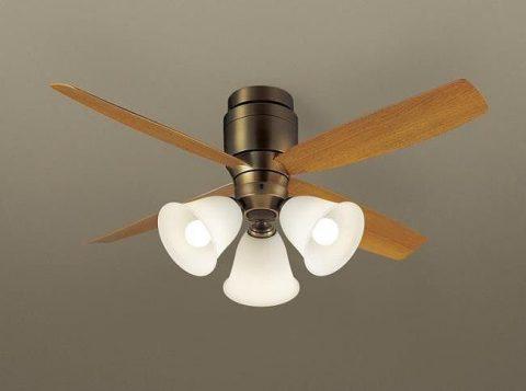 XS73045/SP7073 + SPL5345 / SPL5345(D) 大風量 LED 3灯 軽量 Panasonic(パナソニック)製シーリングファンライト