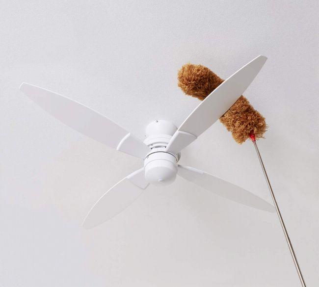 のびのびモップ ハタッキー  のびのびモップ ハタッキー 最長2.8m伸縮 シーリングファン お掃除道具【EEAO005】