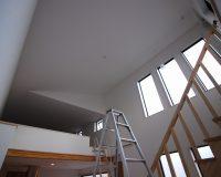 千葉県船橋市 戸建て オーデリック製シーリングファンライト 取付工事