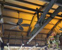 川口市 戸建て 吹き抜け 普通天井 オーデリック製シーリングファン 取付工事