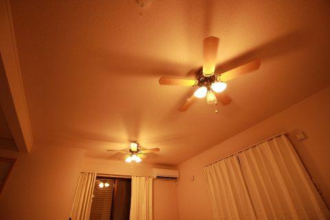 ND-CFL-PC + LD2602 / ND2602 / ND-CFL-PC(L) LED 3灯 薄型 軽量 NIHON DENKO(日本電興)製シーリングファンライト