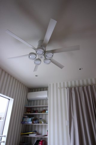 WF237 + WF268LC / WF268NC 大風量 LED 調光 電球色/昼白色 5灯 薄型 ODELIC(オーデリック)製シーリングファンライト