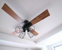 折り上げ天井にシーリングファンライトを設置する場合の注意点