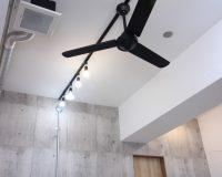千葉県市川市 美容室 2.8mレールへの取付 アンカー工事