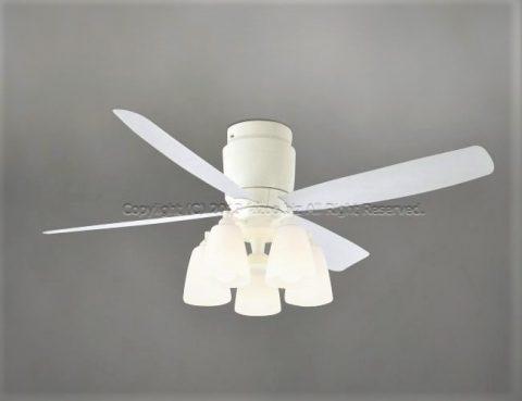 AEE595029 + AA40311L 大風量 LED 5灯 軽量 KOIZUMI(コイズミ)製シーリングファンライト