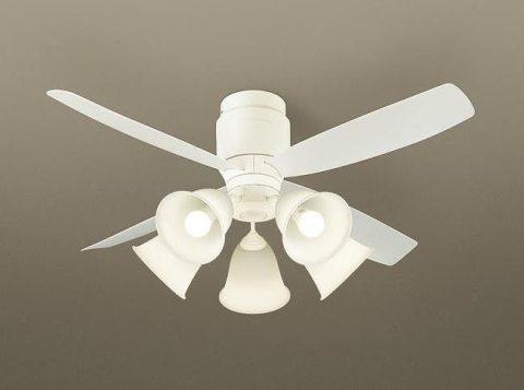XS70040/SP7070 + SPL5540 / SPL5540(D) 大風量 LED 5灯 軽量 Panasonic(パナソニック)製シーリングファンライト