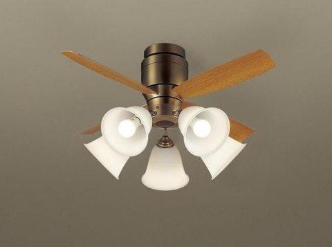 XS78042/SP7078 + SPL5542 / SPL5542(D) 大風量 LED 5灯 軽量 Panasonic(パナソニック)製シーリングファンライト