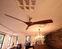 南麻布 海外製 シーリングファン Aviation オフィスへの設置工事