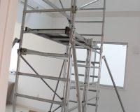 横浜市旭区 戸建て 2階分の吹き抜け シーリングファン取り付け工事