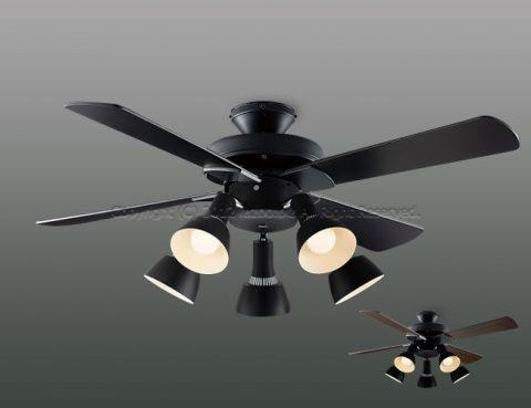 AM47470E + AA47473L / AA47473L(N) LED 5灯 薄型 KOIZUMI(コイズミ)製シーリングファンライト