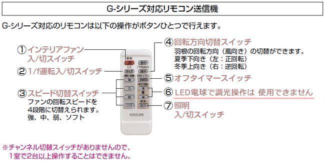 AEE595029 + AAE590180 + AE-91157 + AEE590184 KOIZUMI(コイズミ)製シーリングファンライト【生産終了品】