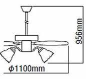AEE695075 + AA35172L + AEE590128 KOIZUMI(コイズミ)製シーリングファンライト【生産終了品】