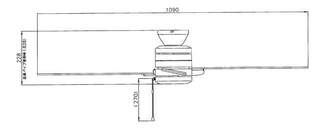 F-301 NEC_LIGHTING(NECライティング)製シーリングファン【生産終了品】