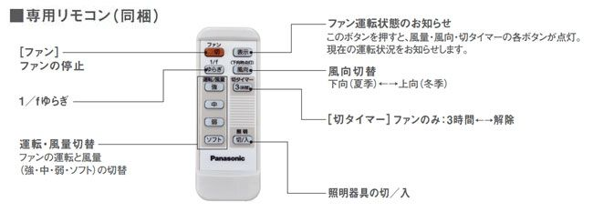 XS70570/SP7070 + SPE5470E + SPK101 + SPK071 Panasonic(パナソニック)製シーリングファンライト【生産終了品】